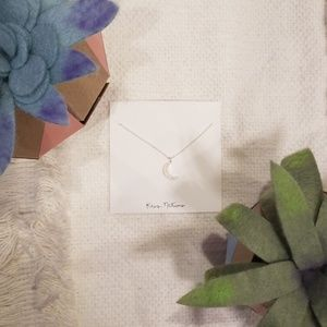 Kris Nations Opalescent Moon Necklace